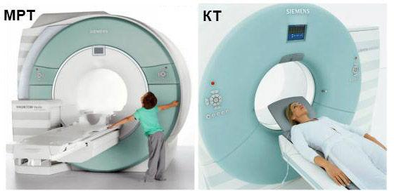 Чем отличается МРТ от КТ (компьютерной томографии)?