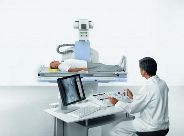 Рентгеноскопия пищевода и желудка в положении Тренделенбурга