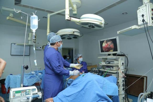 Лапароскопия миомы матки больших размеров: подготовка, операция, восстановление