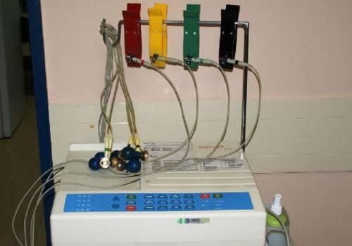 Обработка электродов после проведения ЭКГ