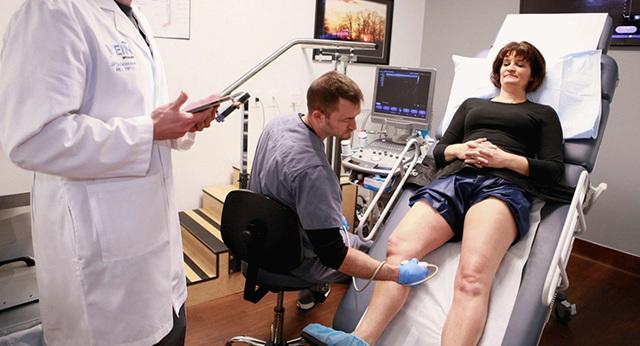 Что показывает УЗИ коленного сустава?