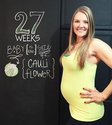 УЗИ на 26-27 неделе беременности