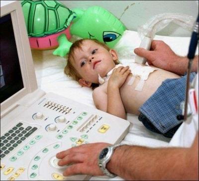УЗИ сердца у детей
